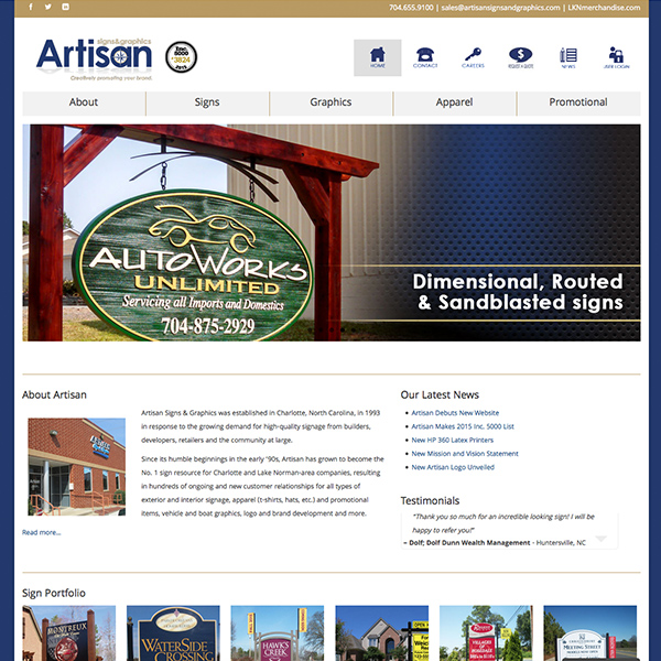 Artisan Signs & Graphics