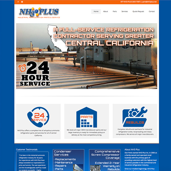NH3 Plus Industrial Refrigeration