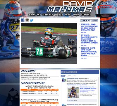 motorsports website design